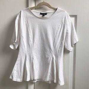Topshop Blouse- White